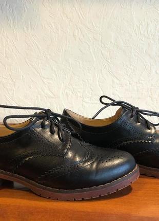 Туфли оксфорды