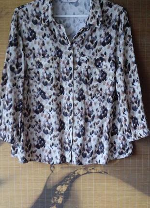 Свободная блуза tu/ вискоза