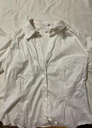 Рубашка крем h&m