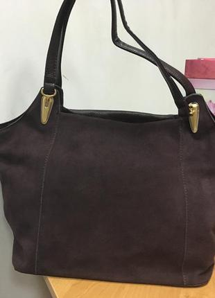 a1f63f7a8066 Замшевая сумка ronaerdo 30147 т. коричневая (3 цвета), цена - 520 ...