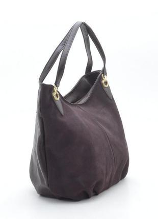 d82aa5704ba5 Замшевая сумка ronaerdo 30146 т. коричневая (3 цвета), цена - 520 ...
