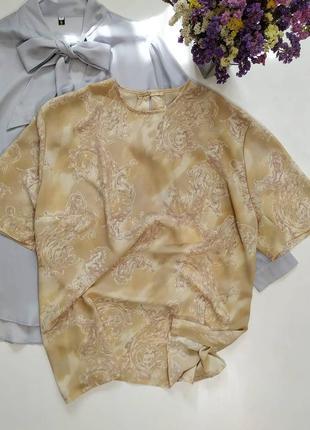 ❤️нежная блуза в принт