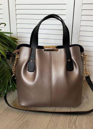 Новая сумка на три отделения