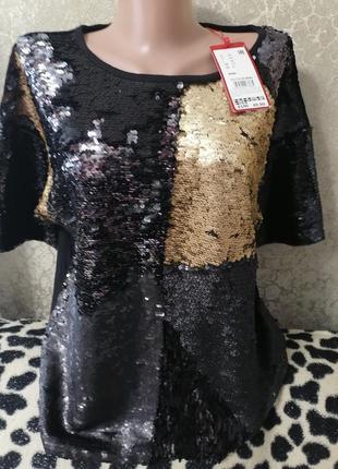 Красивая блузка, блуза в паетках