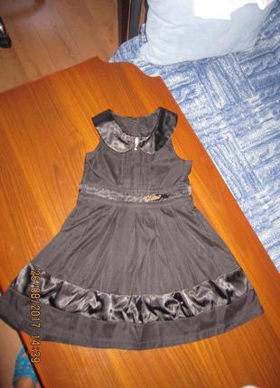 Школьный сарафан-платье для девочки 116 см