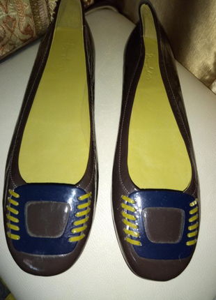 Кожаные туфли балетки boden
