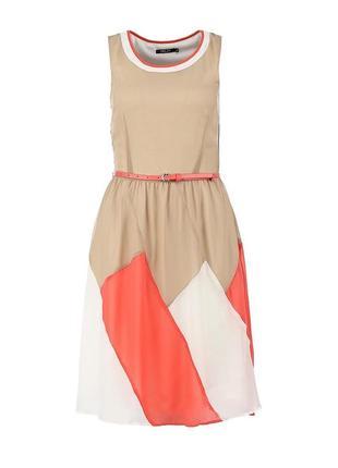 Легкое шифоновое платье incity
