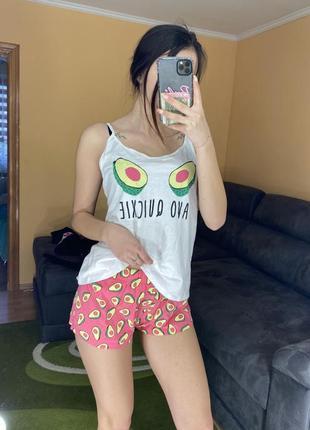 Пижама авокадо піжама