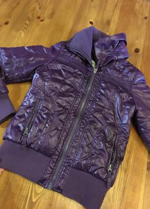 Тёплая деми куртка broadway