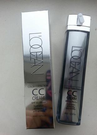 Тональный крем сс крем лоушен l`ocean color correction cc cream l'ocean