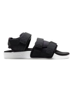 Босоножки женские adidas adilette 1.0 черные / босоніжки сандалии сандалі адидас адідас