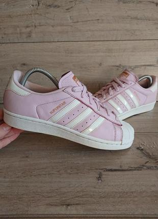 Кроссовки адидас adidas originals superstar 38 р 24,5см кожа оригинал