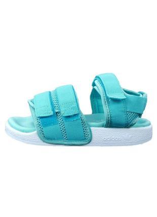 Босоножки женские adidas adilette 2.0 голубые / босоніжки сандалии сандалі адидас адідас