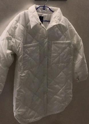Стеганая куртка в стиле zara