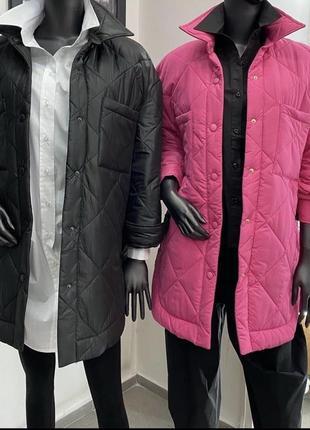 Крутая стеганая куртка zara8 фото