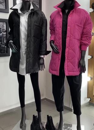Крутая стеганая куртка zara9 фото
