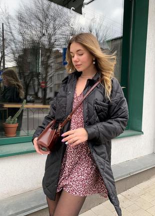 Крутая стеганая куртка zara4 фото
