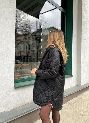 Крутая стеганая куртка zara2 фото