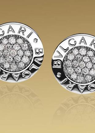 Серебряные гвоздики сережки серьги серебро