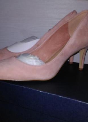 Замшевые туфли, 37