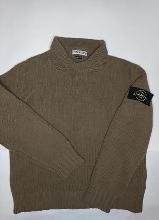 Винтажный свитер свитшот stone island