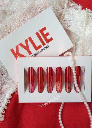 Набор  помад kylie valentine collection