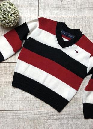 Кофта tommy hilfiger реглан кофточка свитер 1,5-2 года 92 см
