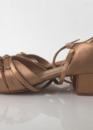 Танцевальные туфельки для девочки galex, размер - 23,5(37)
