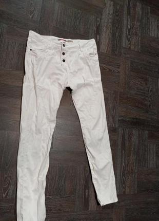 Котоновые джинсы, брюки италия