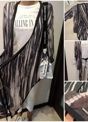 Тончайшая лёгкая накидка блузка рубашка кофточка