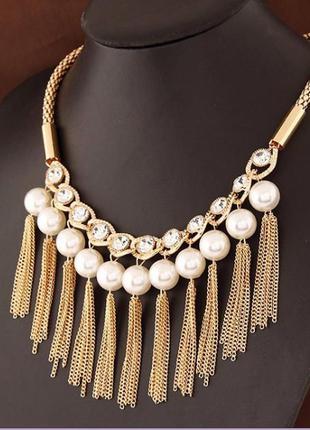 Красивейшее ожерелье украшенье на шею