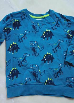 Детские свитеры с динозавром. джемпер. свитшот