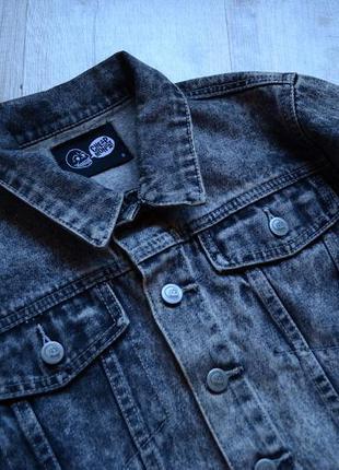 Cheap monday пепельная джинсовка