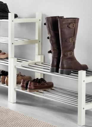 Полиця для взуття ( є також чорного кольору)