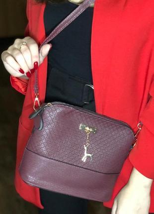 Красивая сумочка с оленем