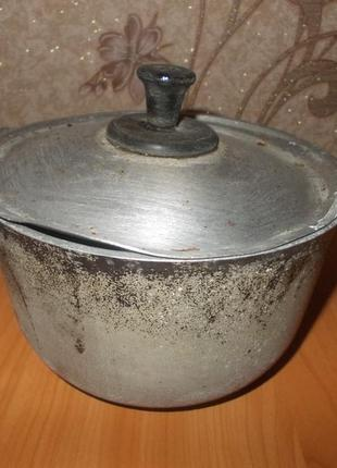 Советский казанок котелок на 1 литр
