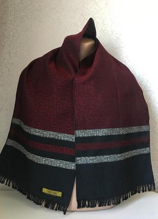 Мужской шарф шерсть 132*31