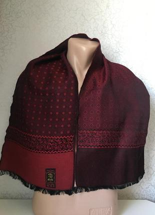 Мужской шарф шерстяной 166*30