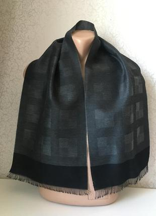 Мужской шерстяной шарф 120*28