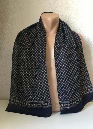 Мужской шарф 136*20