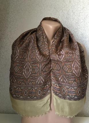 Мужской шарф двойной 120*27