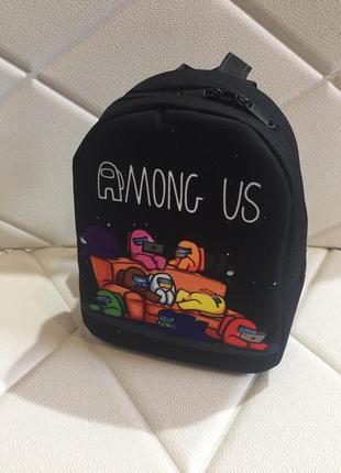Рюкзак мини амонг ас