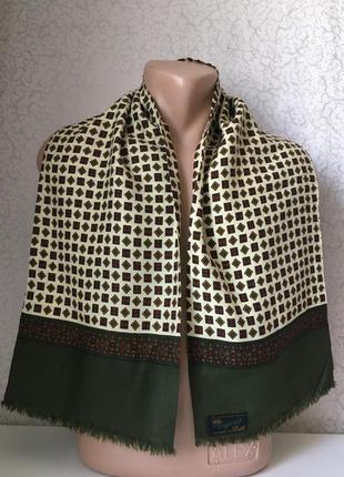 Мужской шарф двойной 120*25