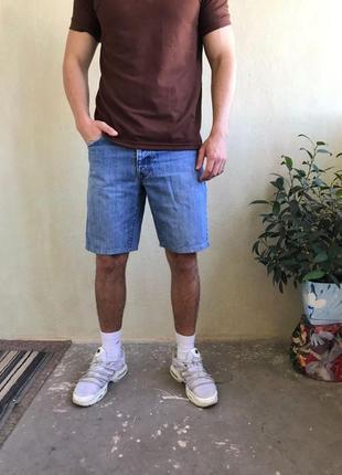 Шорты yves saint laurent ysl джинсовые
