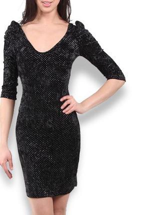 Вечернее бархатное платье jennyfer