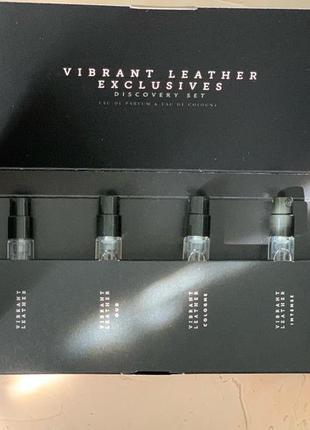 Набор пробников vibrant leather/тестеры /тестеры /духи