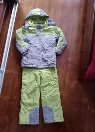 Куртка брюки vertbaudet лыжный костюм