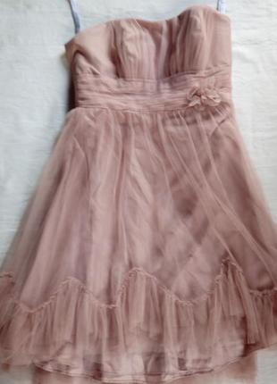 Платье тюль сарафан вечернее платье платье на фотоссесию