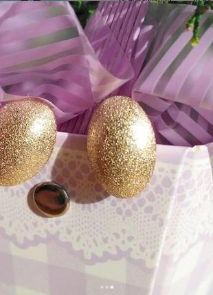 Маленькие модные сережки золотого цвета, красивые серьги