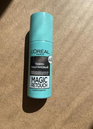 Спрей для закрашивания отросших корней волос